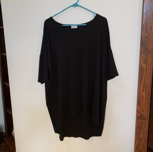 Black Irma Tunic Top